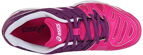 Asics Women's Gel-Game 5 Tennis Shoe Pink Glow/White/Grape