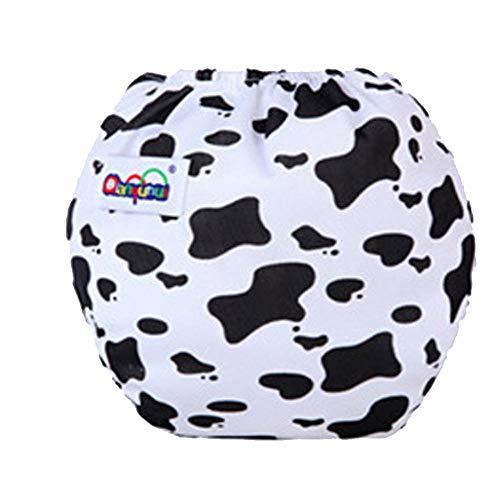 Nappy Underwear Réglable Lavable Mignon Infantile Bébé Couche Bébé en Coton Solide Briefs Garçons Filles Culotte(Chien)