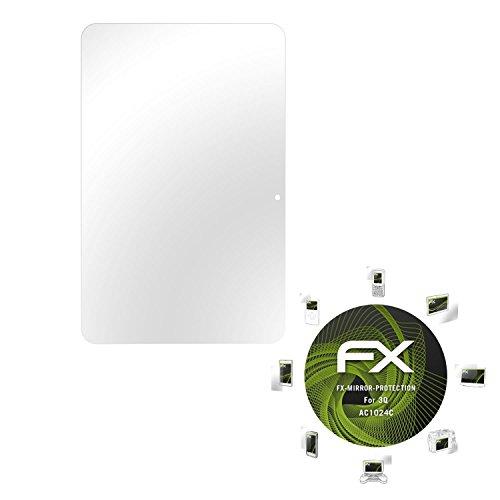 atFolix Bildschirmfolie für 3Q AC1024C Spiegelfolie, Spiegeleffekt FX Schutzfolie