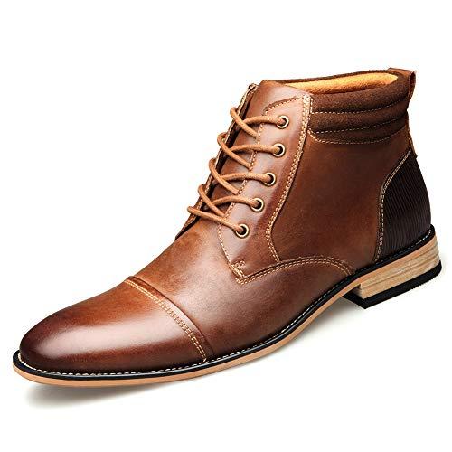Keds Chukka (Shoe house Mens Winter Chukka Ankle Dress Boots Leder Lace up Oxford Classic,B,US11.5=EU45.5)