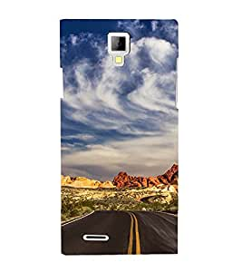 EPICCASE Hilly Road Mobile Back Case Cover For Micromax Canvas Xpress A99 (Designer Case)