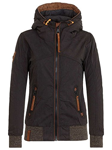 Naketano Female Jacket Pallaverolle II Black