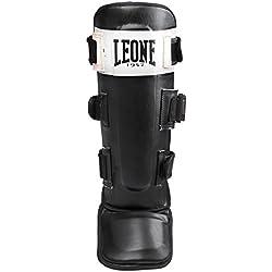 Leone 1947 - Espinilleras de boxeo, Unisex adulto, Shock, negro, S