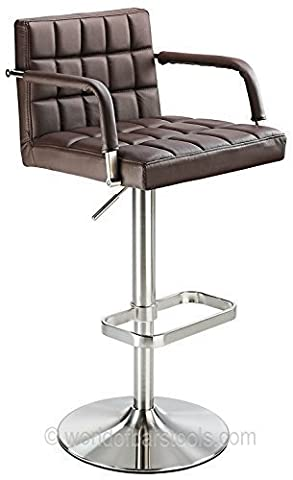 Kuba Real Leather Bar Stool