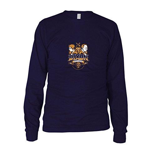 Dixon Brothers - Herren Langarm T-Shirt, Größe: XXL, dunkelblau