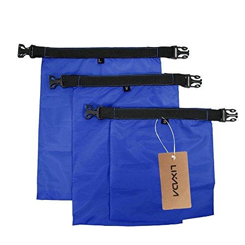 Lixada Pack 3 1L + 2L + 3L Impermeable Seco Bolsa