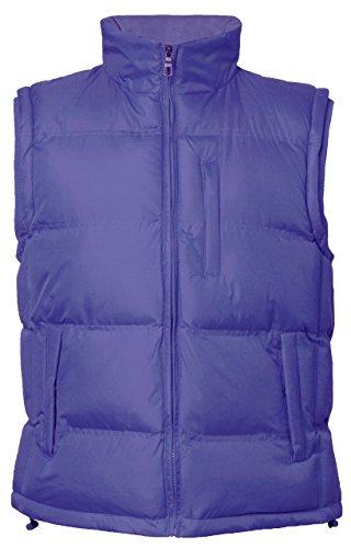 Bouillotte raves veste gilet sans manche pour homme sK - 430 Bleu - Bleu