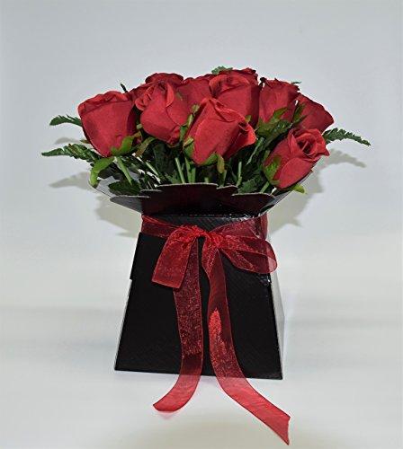 Rosen-Arrangement Außergewöhnliches Gefäß