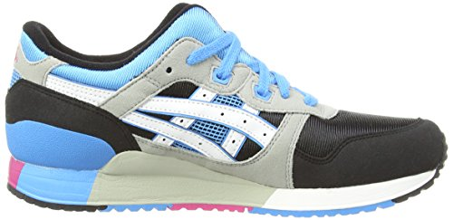 ASICS Gel-Lyte III Gs, Chaussures Multisport Outdoor Mixte adulte Noir (Black/Light Grey 9013)