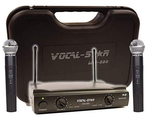 al VHF Kabellose Mikrofone und Cary Case ()