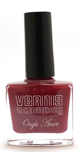 Vernis Stamping Rouge