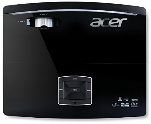 Acer P6600 DLP Projektor (WUXGA 1920 x 1,200, 5.000 ANSI Lumen, Kontrast 20.000:1)