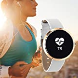 SIONA Damen Smartwatch Android und Smart Watch Damen iOS – Sportuhr Damen Smartwatch Frauen Uhr Fitness Armband Smart Watch iPhone kompatibel Smart Uhr Damen - 6