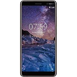 (CERTIFIED REFURBISHED) Nokia 7 Plus (Black-Copper, 64GB)