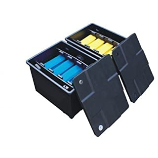 Koi Pond Filter Box System 12000 Litres - Two Bay System All Pond Solutions CBF-350B