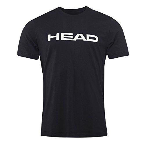 HEAD Ivan T-Shirt Homme, Noir/Blanc, XL