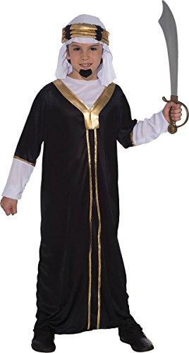 Sultan - Kinder- Kostüm - Large - 134cm bis (Sultan Für Kostüm Kinder)