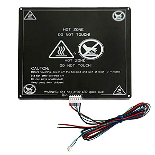 KNOSSOS Anet A6 A8 E10 E12 Aluminum Heated Bed with Line for Mendel RepRap i3 3D