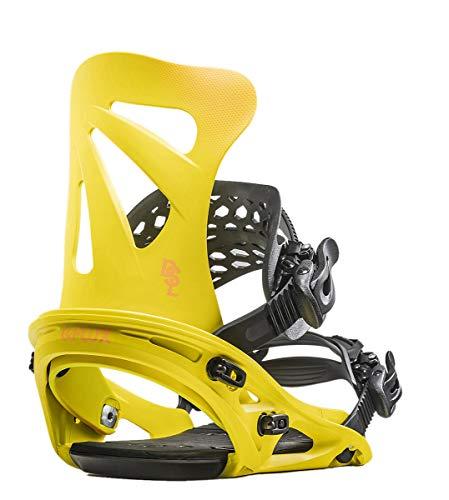 FLUX DSL Snowboard-Bindung für Herren 2020, YellowxOrange, Medium -