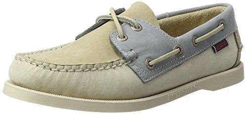 Sebago SPINNAKER Herren Bootsschuhe Grau (Taupe/beige/grey Nbk)