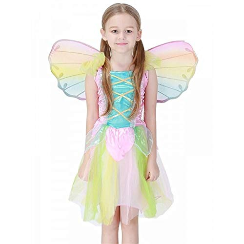 Rainbow Fairy Kids Fancy Dress Costume 2-3 ()