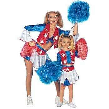 Deguisement Pom Pom Girl Enfant Taille - 128 Cm