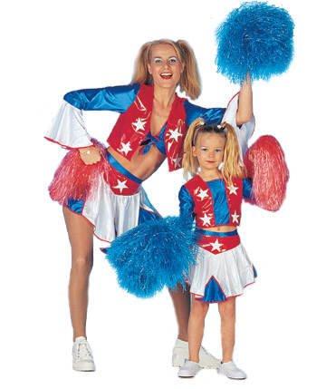 Kinder-Kostüm Cheerleader, Gr. 164