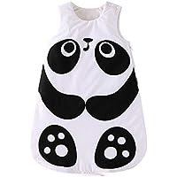 JYCRA - Saco de Dormir para bebé, diseño de Animales, algodón orgánico, cómodo