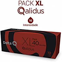 Pack Xl Café Tostado Molido 40 Cápsulas Qalidus Delta Q 40 X 5.5 G