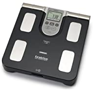 Omron BF508 Body Composition and Body Fat Monitor Bathroom Scale - Black