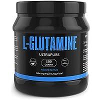 Preisvergleich für L-GLUTAMIN Ultrapure Pulver In Deutscher Premiumqualität Sehr Hochdosiert und 99,5% Rein - Perfekt für Bodybuilder...