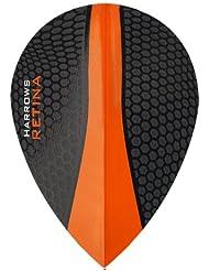 Gradas Retina dardos - 5 (15) - 100 Series Micron - Pera - Extra fuerte naranja