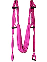 Gazechimp Yoga Gran Cojinete de Rotación Herramienta Inversión Trapecio - Rosa