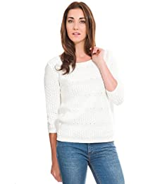 Springfield - Pull-over trame manches 3/4 - Femme