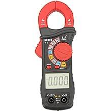 KKmoon Pinza amperimétrica digital Amp Volt Ohmetro HD HD90B Range Auto w / frecuencia de capacitancia y temperatura de prueba