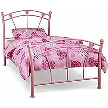 Jemima Single Girls Pink Bed Frame Serene 3ft Jemima Bedstead