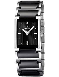 Festina Damen-Armbanduhr Analog Quarz Edelstahl F16536-2