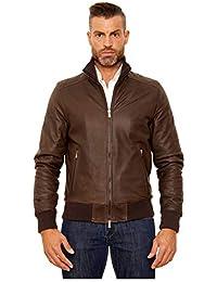wholesale dealer 59bc4 40e79 Marrone - Giacche e cappotti / Uomo: Abbigliamento - Amazon.it