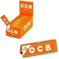 Ocb Cartine Arancioni Corte, 50 libretti