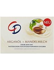 CD Creme Seife Arganöl & Mandelmilch 125g, 3er Pack (3 x 125 g)