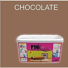 Pintura plástica Alta Decoración PINKTURA 2,5 litros (Marrón ...