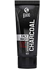 Beardo Activated Charcoal ACNE and Oil Control Face Wash, 100ml   Made in India