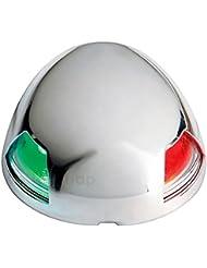 LED Backbordlaterne Steuerbordlicht Toplicht Zweifarbenlaterne Edelstahl Boot