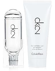 Calvin Klein 2 Unisex Set (Eau de Toilette + Shower Gel), 1er Pack (1 x 1 Stück)