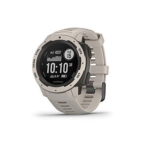 Oferta de Garmin Instinct - Reloj con GPS, Unisex, Tundra, 1