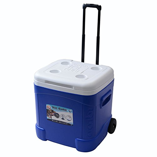Igloo Ice Cube 60 - Nevera para acampada, color azul, talla 56...