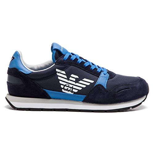 Emporio Armani Damen Laufschuhe, Color Blau, Marca, Modelo Damen Laufschuhe X4X215 XL198 Blau