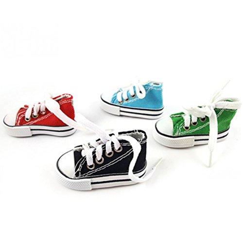 Vogelspielzeug Mini-Sneaker, für Vögel, Papageien, Haustiere, Set mit 4 Stück in zufälliger Farbe - von UEETEK - Beliebten Sneakers