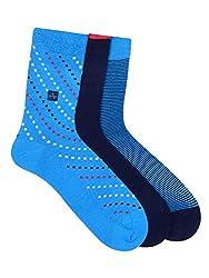 Arrow Mens Calf Length Soft Combed Cotton Socks Pack of 3 Pair