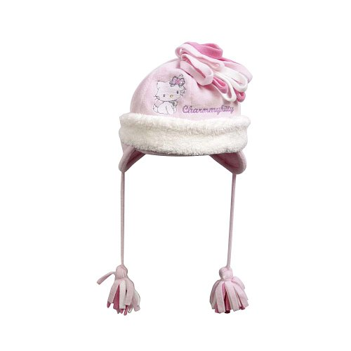 Puttmann Baby - Mädchen Mützchen 72276, Gr. 53, Rosa (832 Pink Lady) (Hut Kitty Womens)